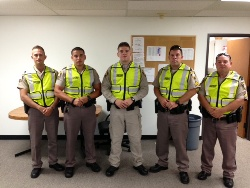 Equipment Donation: Creek County Sheriff's Department, Oklahoma
