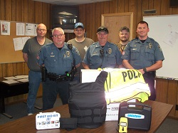 Equipment Donation: Fredonia Police Department, Kansas