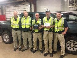 Equipment Donation: Gore Police Department, Oklahoma