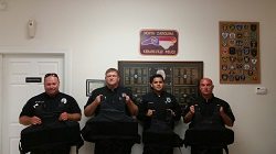 Equipment Donation: Kenansville Police Department, North Carolina