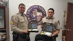 Equipment Donation: Limestone County Sheriff's Department, Texas