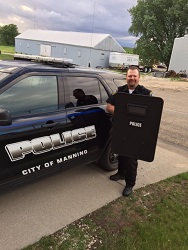 Equipment Donation: Manning Police Department, Iowa