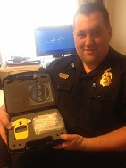Equipment Donation: Moffett Police Department, Oklahoma