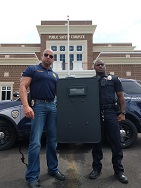 Equipment Donation: Moss Point Police Department, Mississippi