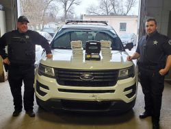 Equipment Donation: New Chicago Police Department Indiana