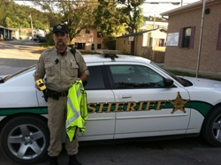 Equipment Donation: Newton County Sheriff's Department, Arkansas