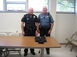 Equipment Donation: Oakley Police Dept./Logan County Sheriff, Kansas