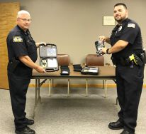Equipment Donation: Russell Police Department Kansas