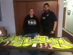 Equipment Donation: Village of Ridgeway Police Department, Wisconsin