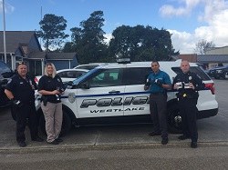 Equipment Donation: Westlake Police Department, Louisiana